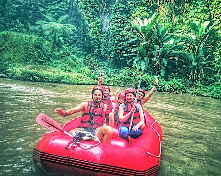 Raftingas Ajung upe Balio saloje